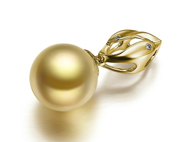 Cedric South Sea Pearl And Diamond Pendants Ssp285736b